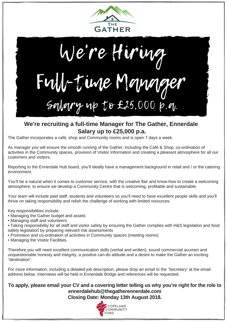 Managers Advert